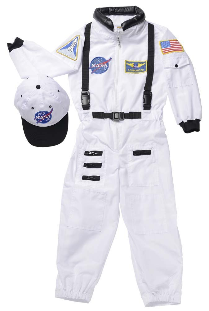 Jr Astronaut Suit Costume Small
