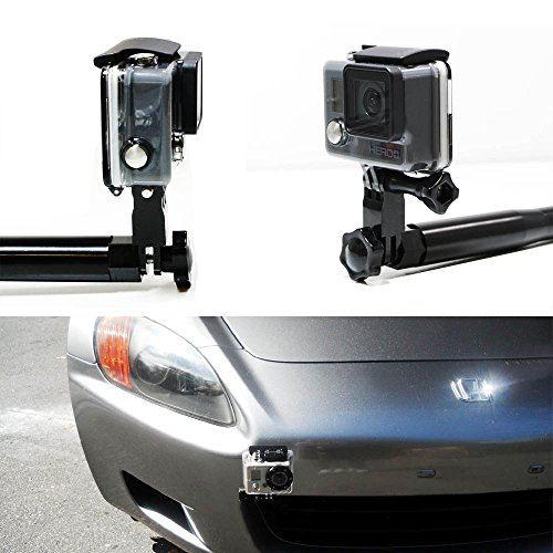 ijdmtoy-1-bumper-tow-hook-car-mount-bracket-holder-for-gopro-camera-fits-honda-s2000-fit-acura-tl