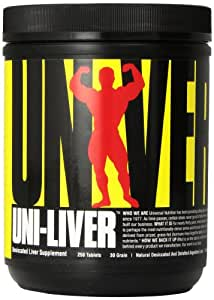 Universal Nutrition Uni-Liver 250 Tabs