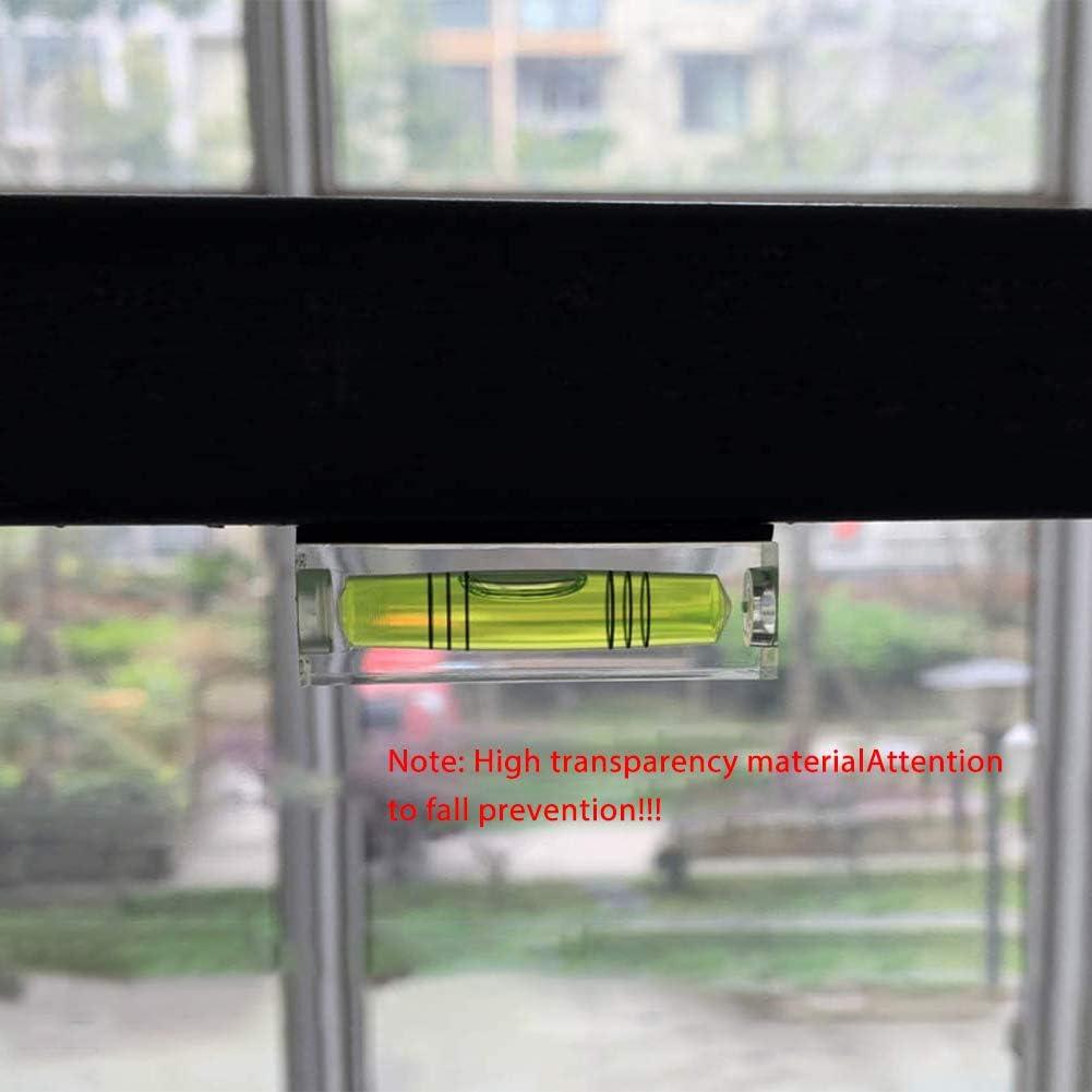 Petit Niveau /À Bulle Du Niveau Dimage Miniature Suspendu 52 20 15mm Niveau Mini Carr/é Limage Mise En Page Instrument De Mesure Rep/ère De Niveau Suspendu Outil 2pcs
