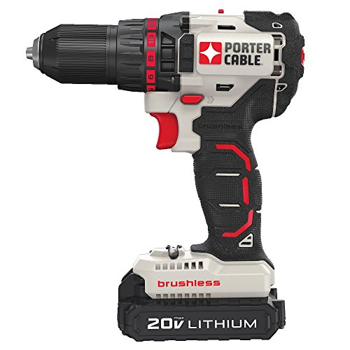 Compra PORTER-CABLE PCCK618L2 20V MAX 2 -Tool Brushless Lithium Drill/Impact Driver Combo Kit en Usame