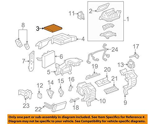 General Motors 20901295, Cabin Air Filter