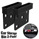 VViViD Car Seat Side Catcher and Storage Organizer Pocket Box 2-Pack