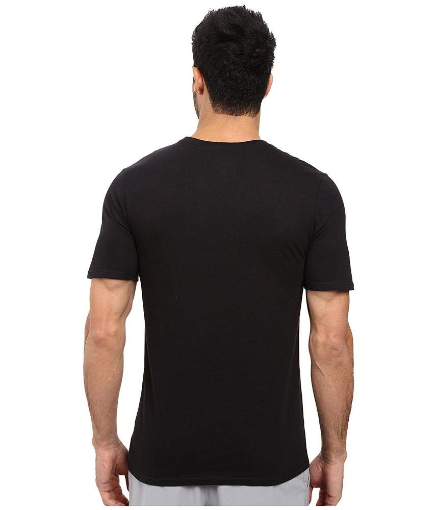 NIKE Sportswear Men's Just Do It Swoosh Tee, Black/White/Varsity Red, XXX-Large