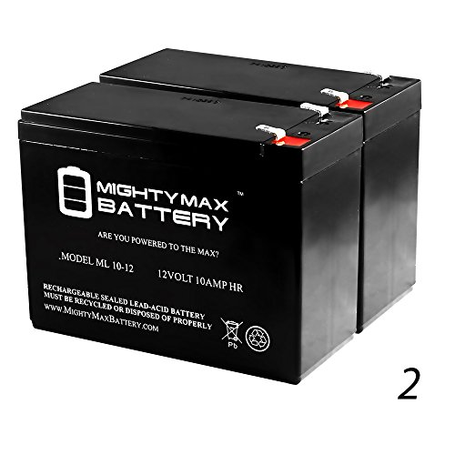 BATTERY RAZOR DIRT QUAD VERSION 1-8 12V 10AH - 2 Pack - Mighty Max Battery brand product