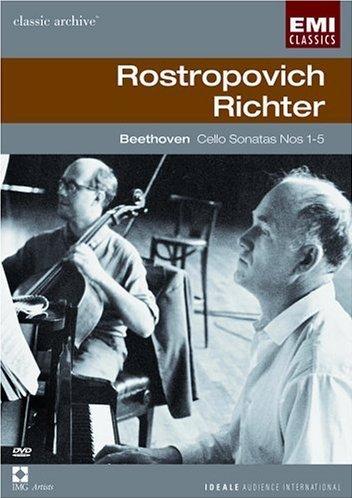 Beethoven Cello Sonatas Nos. 1-5 / Rostropovich, (Last Sonatas)
