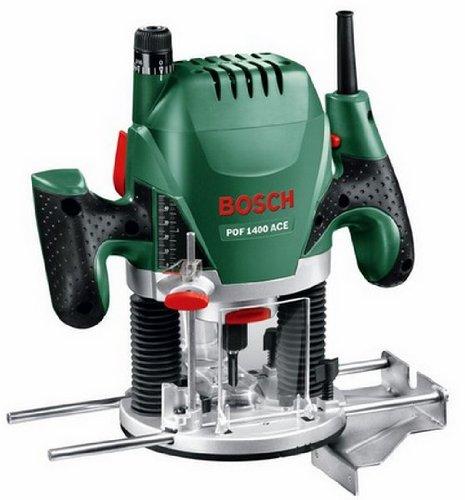 BOSCH Oberfr/äse POF 1400 ACE plus 6 tlg Bosch Fr/äserset und Koffer