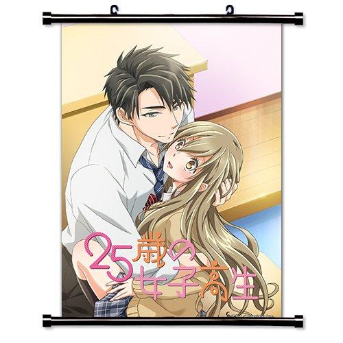 25-sai no Joshikousei Anime Cover Art L Fabric Wall Scroll P