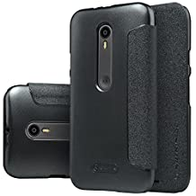 MYLB PU Leather flip phone case cover For Motorola Moto G 3rd Gen smartphone (For Motorola Moto G 3rd Gen) (BLACK)