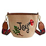 Linen Embroidery Shoulder Bag,Chic Cell phone Pouch Coin Purse for Women Girls, Lightweight Envelope Handbag Clutch Purse (Gift B)