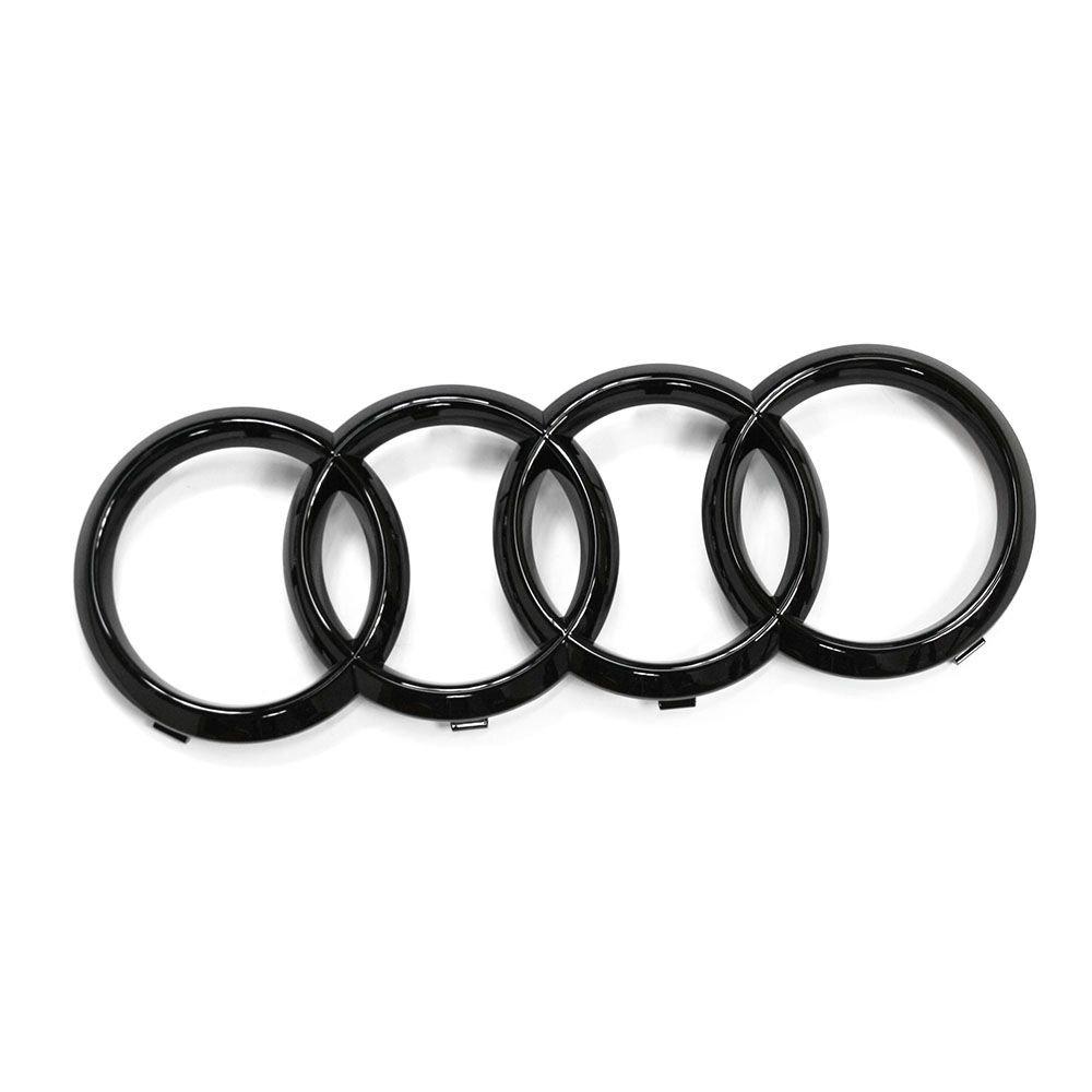 di colore nero Logo originale con anelli per la griglia del radiatore