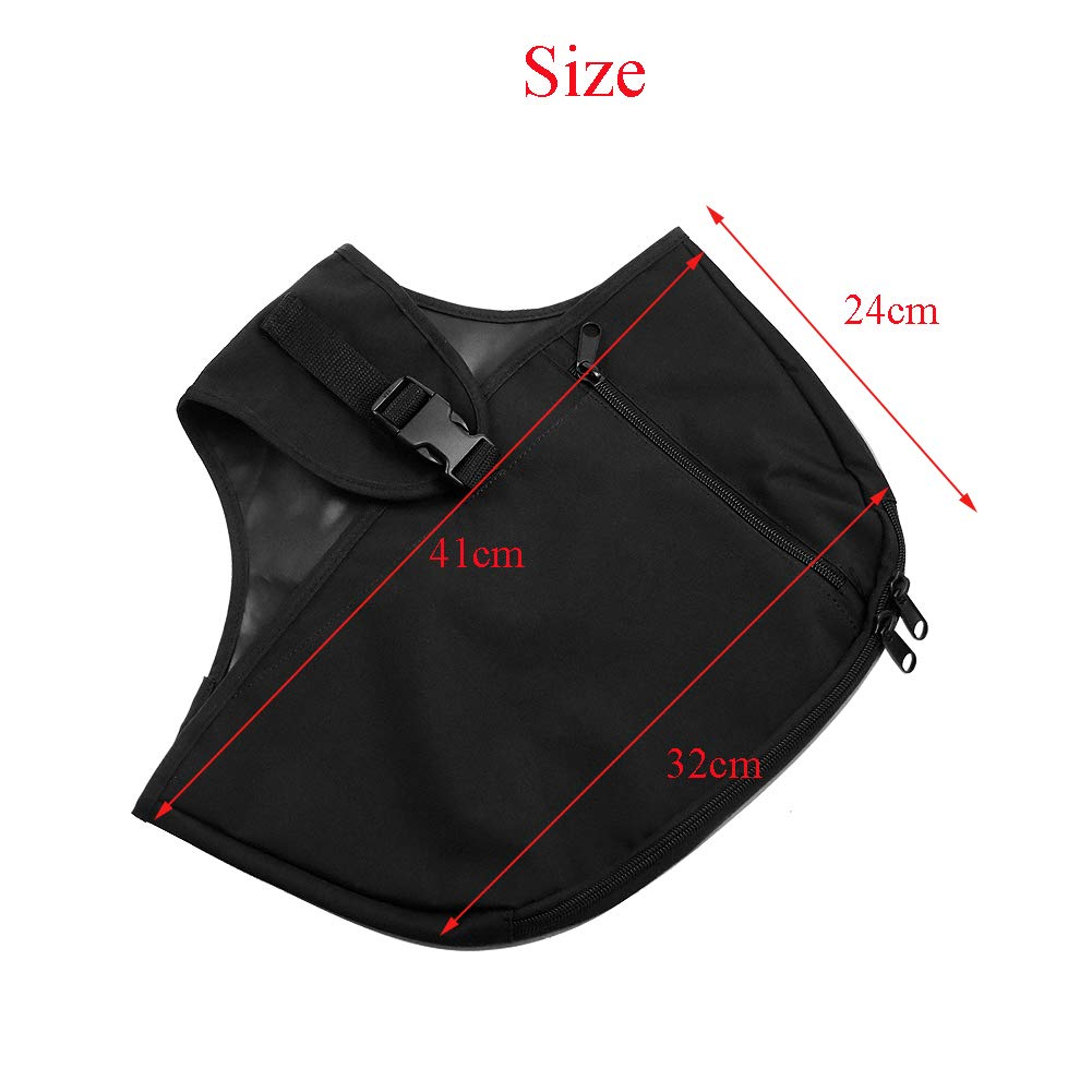 Rebacker Soft Lowers Chaps Leg Warmer Bag For Harley 80-later Touring and Trike models Road King Street Glide