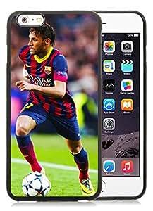 Special Custom iPhone 6 plus Case Neymar 1 Black Personalized Picture iPhone 6 plus 5.5 Inch TPU Phone Case