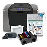 Fargo DTC1250e Complete Photo ID Card Printer System with AlphaCard ID Suite Light Software
