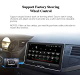 JOYING Car Radio Android 8.0 4GB + 32GB Octa Core 8 inch Single Din GPS Navigation Support Zlink, Android Auto, DVR, RCA Backup Camera, Fast Boot, Video Out