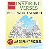 Funster Inspiring Verses Bible Word Search - 101 Large-Print Puzzles: Exercise Your Brain, Nourish Your Spirit