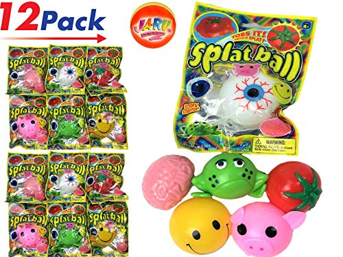 Splat Balls (Pack of 12) by JARU | Squish Splash Toys | Item #5303-12]()