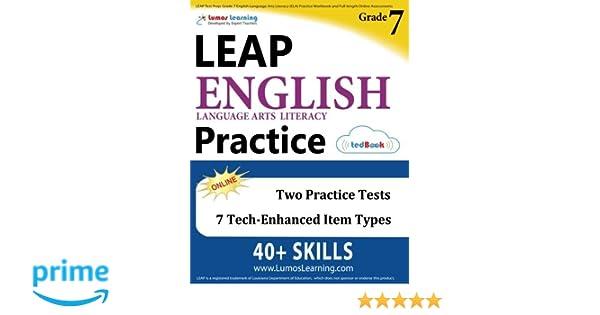 LEAP Test Prep: Grade 7 English Language Arts Literacy (ELA ...