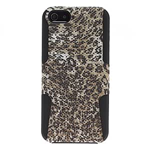 Mini - Leopard Pattern Hard Case for iPhone 5/5S