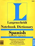 Notebook Dictionary, Langenscheidt and Langenscheidt Publishers Staff, 0887290728