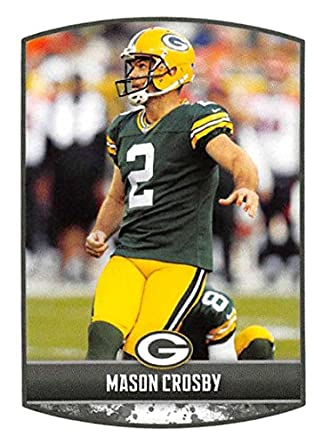 2018 Panini NFL Stickers Collection  317 Mason Crosby Green Bay Packers  Official Football Sticker f7ddf5678
