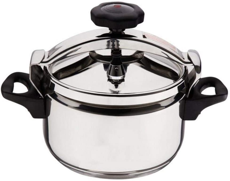 Pressure cooker, general pressure cooker for household gas stoves, outdoor portable camping stainless steel explosion-proof small pressure cooker, can be used in hotel restaurants