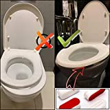 LUTER 12 Pieces Toilet Seat Bumpers Toilet
