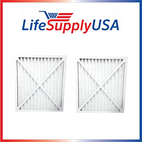 - 2 Pack Replacement Air Purifier Filter 30931 fits Hunter Models 30212, 30213, 30240, 30241, 30251, 30378, 30379, 30381 & 30382 by LifeSupplyUSA
