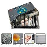 Egg Incubator,Ooouse Mini Digital Fully Automatic 9-35 Egg Incubator with Automatic Egg Turning