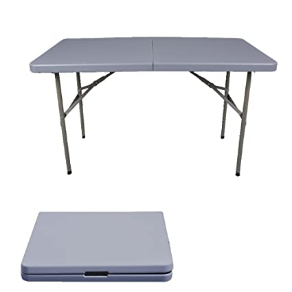 MS Tables Folding Table Outdoor Long Table Simple Office Table Folding  Dining Table Plastic Tables Stall