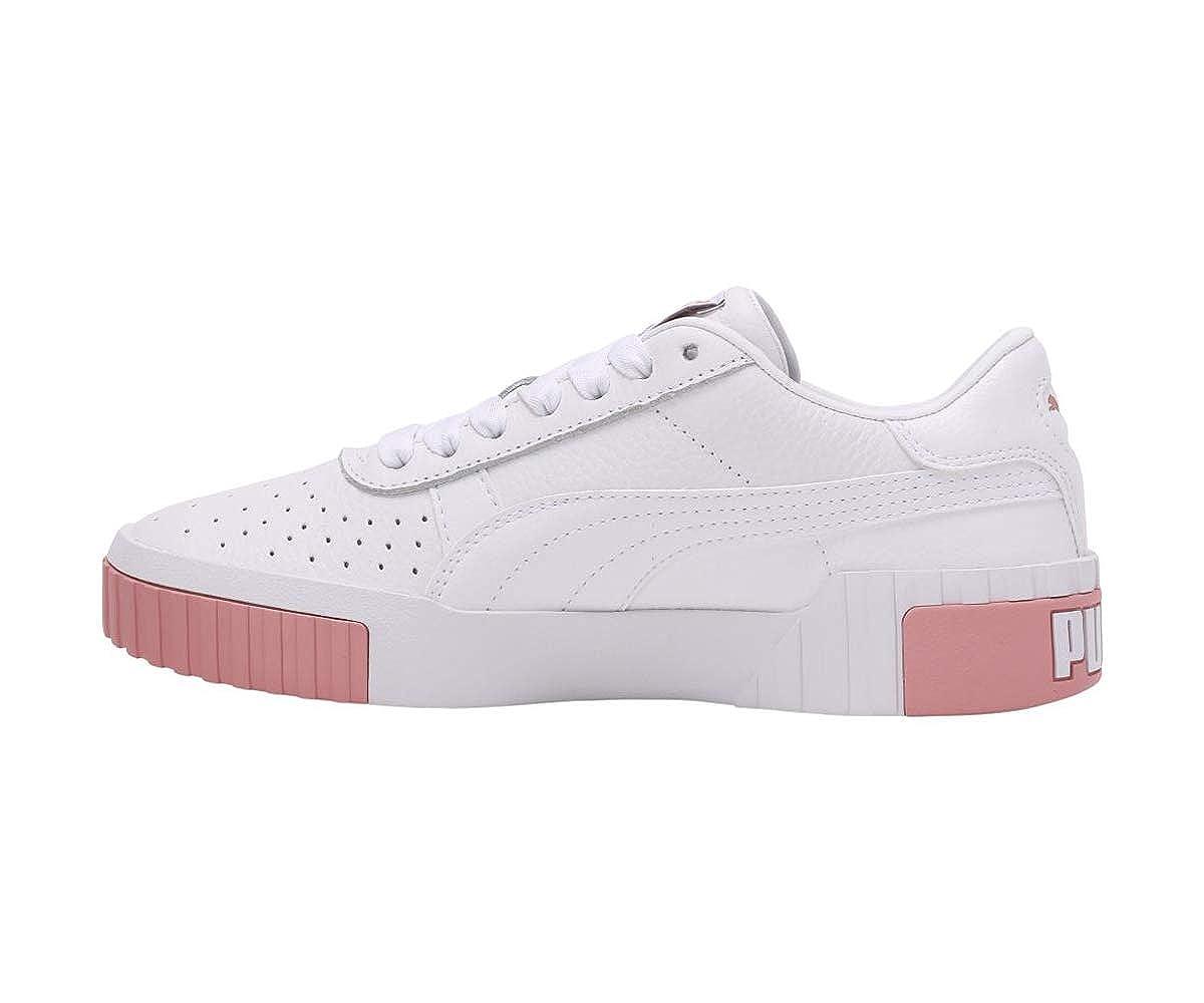 puma cali rose et blanche