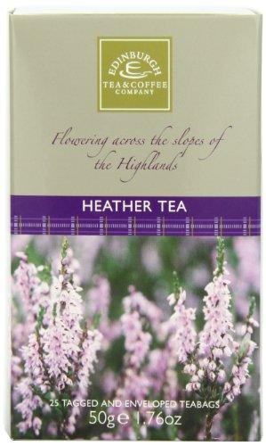 Edinburgh Tea and Coffee Company Heather Tea, 25 Count Teabags