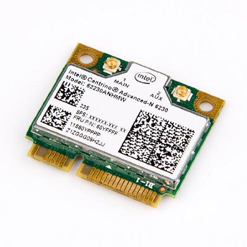 NEW Intel 6230 802.11abgn IBM Thinkpad FRU 60yffff Wlan Bluetooth 3.0 Combo Card ()