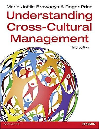 Cross Cultural Management Book