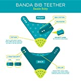 Bandana Drool Bib, Absorbent Cotton Front and