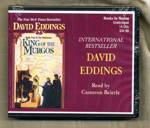King of the Murgos by David Eddings Unabridged CD Audiobook (The Malloreon Series, Book 2) (Pawn Of Prophecy Cd)