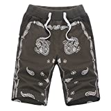 Roludom Men's Casual Outdoors Trousers Shorts