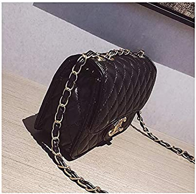 28c2190fd21e Amazon.com: Small Handbags for Women Lingge Laboy Flap Cute Crossbody Bags  for Women Cell Phone Purse with Chain -Black: Computers & Accessories