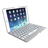 ipad mini on sale - ZAGG Cover for iPad mini & iPad mini Retina , Hinged with Blacklit Keyboard - White