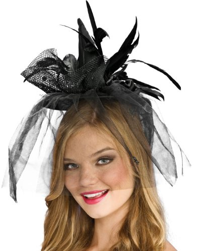 Halloween Hats - Black Mini Witch Hat Adult