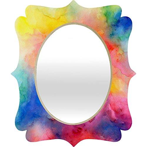 - Deny Designs Jacqueline Maldonado Acquiesce 1 Quatrefoil Mirror, Medium/28 x 23