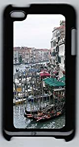 ipod 4 CaseVenice Pier PC Custom ipod 4 Case Cover Black