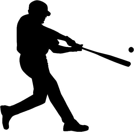 VINYL Decal New Arrival Baseball Players Silhouette Vinyl Wall STICKER Art Home Decor Boys Room Sports