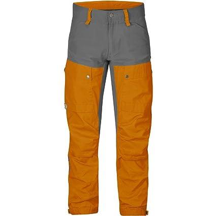 Fjallraven Keb Trouser - Men's Seashell Orange/Grey, US 29/EU 44