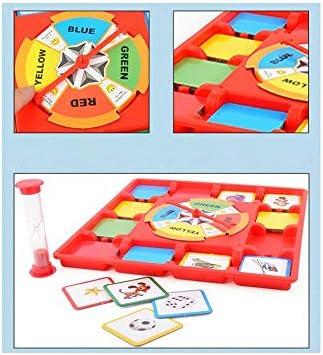 El papel de tarjeta de memoria de la placa giratoria Juego de Mesa Multi Reproducción de juego de memoria juego de cartas Promueve habilidades cognitivas y emocionales para todas las edades 1Ponga:
