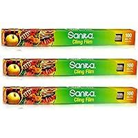 Sanita Cling Film 45cm - Pack of 3 Pcs (3 x 100 sq.ft)