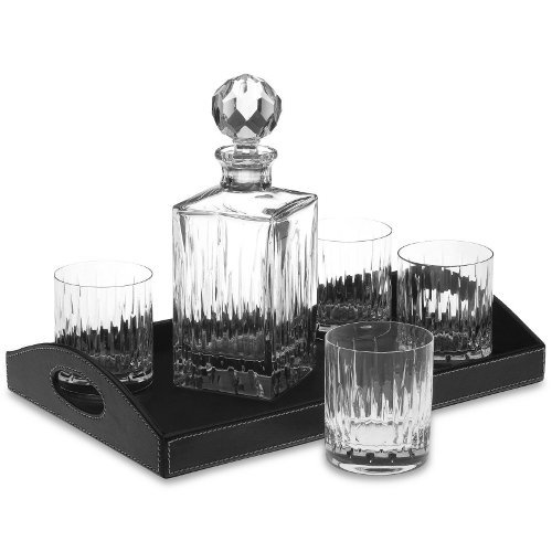 - Reed & Barton 471830-2989/6268 Soho Bar Set With Tray, Clear (Pack of 6)