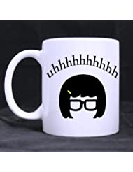 Artsadd Fashion Quotes Mug Fanny uhhhhhh Quotes 11 Ounce White Ceramic Coffee Tea Mug Cup