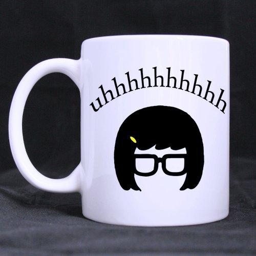 Artsadd Fashion Quotes Mug Fanny uhhhhhh Quotes 11 Ounce White Ceramic Coffee Tea Mug Cup -