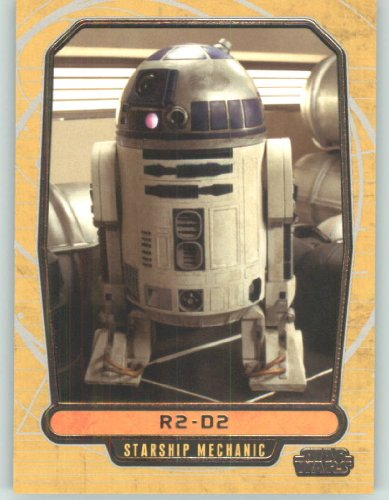 2012 Star Wars Galactic Files #18 R2-D2 (Non-Sport Collectible Trading Cards) from Star Wars